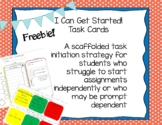 Executive Functioning Scaffolded Graphic Organizers Freebies!