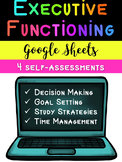 Executive Functioning Self-Assessments (Google Sheets)
