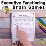 Executive Functioning Skills Brain Games - Digital and Pri