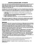 Executive Functioning Skills – IEP Goal Kit
