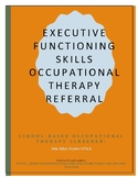 Executive Functioning Skills Occupational Therapy Referral