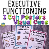 Executive Functioning Skills Posters with Visual Cues for