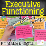 Executive Functioning Skills Task Cards | Digital & Print