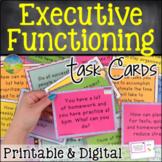Executive Functioning Skills Task Cards   Digital & Print