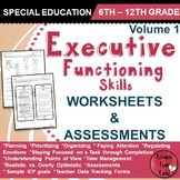 Executive Functioning Skills - Volume 1 - Worksheets and Assessments