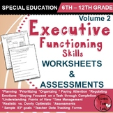 Executive Functioning Skills - Volume 2 - Worksheets and Assessments