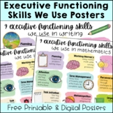 Executive Functioning Skills We Use in Academics Poster -