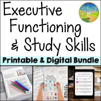 Executive Functioning & Study Skills BUNDLE!