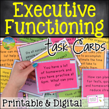 Executive Functioning Task Cards