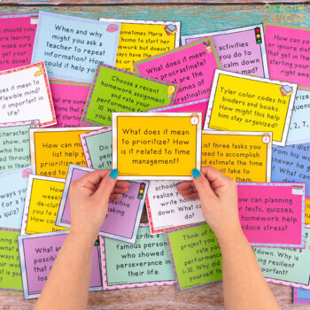 Executive Functioning Task Cards - Distance Learning and Google Classroom