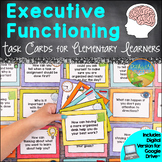 Executive Functioning Task Cards & Prompts for Elementary