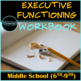 """Executive Functioning"" 15 worksheets grades 6-9- Google Slides version included"