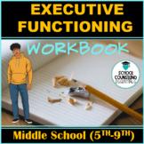 """Executive Functioning"" 15 worksheets grades 6-9- Google S"
