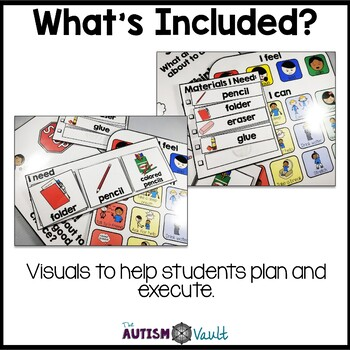 Executive Functioning Visuals for Students with Autism