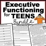 Executive Functioning Activities for Teens Bundle