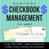 Executive Functions: Checkbook Management for Adults (Speech Therapy)