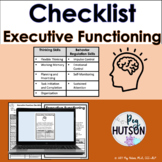 Executive Function Checklist