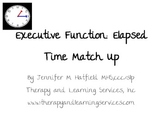 Executive Functions: Elapsed Time Match Up
