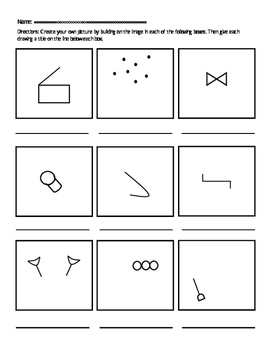 Executive Functions: Initiative Drawing Pages
