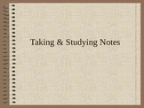 Executive Functions: Taking & Studying Notes