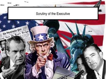 Executive Scrutiny of Congress