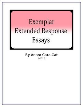 Exemplar Argumentative Essays: Bundle: 5 Essays