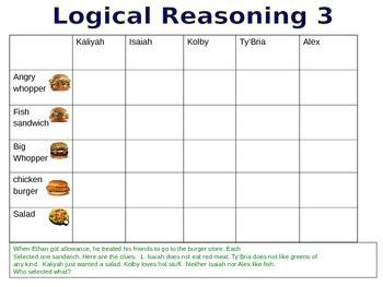 Exemplars- Logical Reasoning