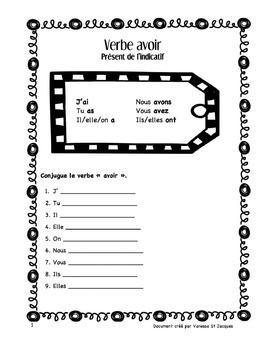 Exercices Verbes 3e groupe (faire, avoir, être, aller)