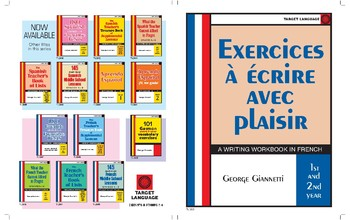 Exercices a ecrire avec plaisir-A Writing Workbook in French