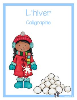 Exercices d'écriture sur le thème de l'hiver