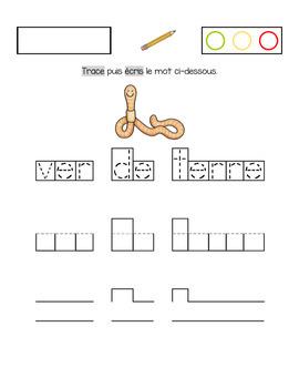 Calligraphie (Petites bestioles)