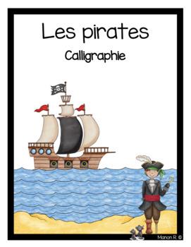 Exercices d'écriture sur le thème des pirates.