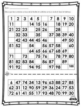 Exercices de numération 100 jours
