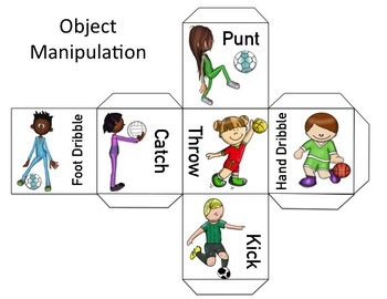 Physical Education Warm Up Games: Dice Games - Object Manipulation & Cardio Dice