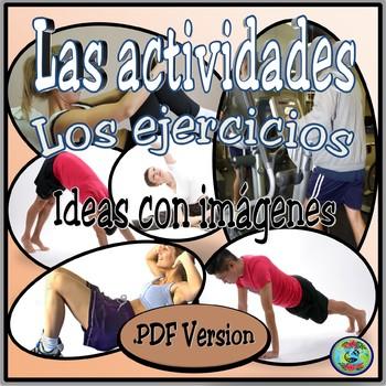 Exercise Activity Photo Images .PDF Version - Los ejercicios para la buena forma