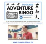 Exercise Bingo - Teambuilding