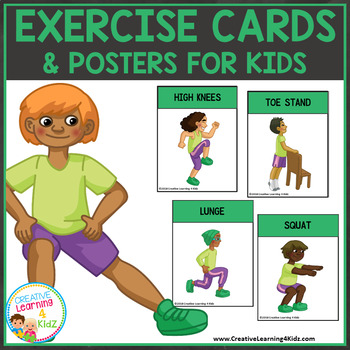 Exercise Cards & Posters for Kids