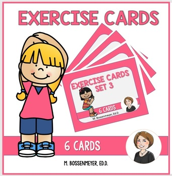 Exercise Cards Set 3