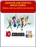 Exercise Cards for the Classroom-exercise images included