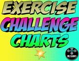 Exercise Challenge Charts