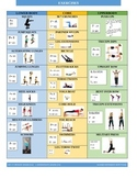 Exercise Chart for Students