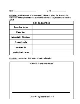 Exercise & Line Plot