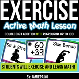 Exercise Math! 2-Digit Addition with Regrouping