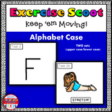 Alphabet Task Cards Exercise Scoot Alphabet Case