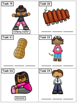 CVC Spelling Mixed Set 2: Phonics Task Cards - Exercise Scoot!
