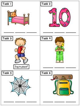 CVC Spelling Short E: Phonics Task Cards - Exercise Scoot!