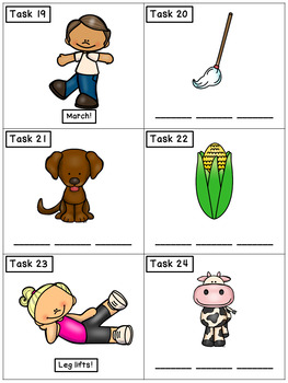 CVC Spelling Short O: Phonics Task Cards - Exercise Scoot!