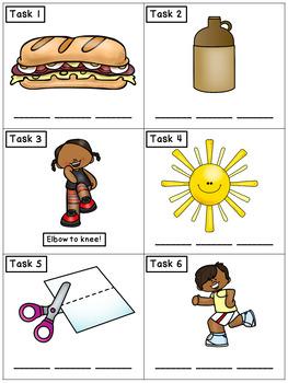 CVC Spelling Short U: Phonics Task Cards - Exercise Scoot!