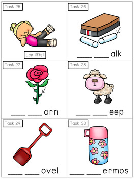 Consonant Digraphs CH, SH, TH: Phonics Task Cards - Exercise Scoot!