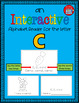 Alphabet Task Cards - Exercise Scoot! Letter C {Emergent Reader Included!}
